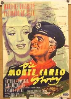 DIE MONTE CARLO STORY (Pl. 57)   MARLENE DIETRICH