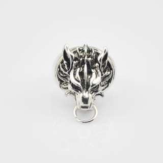 Final Fantasy VII FF7 Cloud Strife Cloudy Wolf Ring
