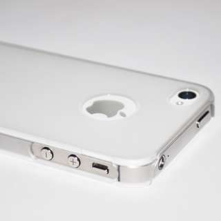 This is a Ultra Thin Frosted Back Hard Plastic case for iPhone 4 and