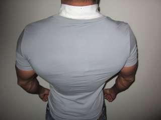 by CIPO BAXX Fitness V Neck Hemd T shirt XXL Bizeps Lat Bodybuilding