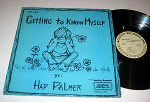 HAP PALMER Getting To Know Myself ACTIVITY NM/NM