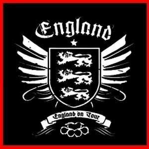 ENGLAND HOOLIGAN (Retro Acab FC Football Team) T SHIRT