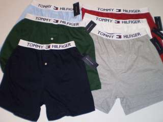 Mens Tommy Hilfiger Button Fly Front Knit Boxer Boxers 28 30 32 34 36