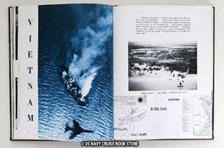 USS MIDWAY CVA 41 WESTPAC VIETNAM CRUISE BOOK 1965