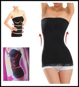 Slimming Tubetop   Shapewear Strapless Black Top   Body Shaper