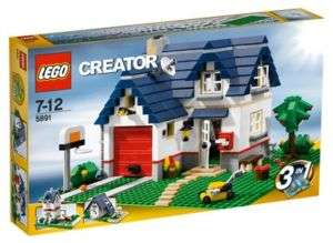 APPLE TREE HOUSE 5891 LEGO Creator MISB 539 pieces 3in1