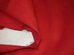RED~FAUX SUEDE UPHOLSTERY FABRIC ~MICROSUEDE~4 4/8YDS