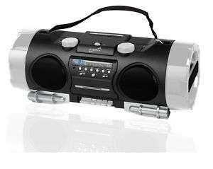 Supersonic Portable Radio CD//AM/FM Input SD/USB