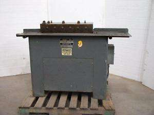 16 ga FLAGER Lockformer Pittsburgh Lock HVAC Machine