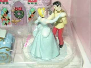 Disney Designer Princess Cinderella Prince LIGHT UP PORCELAIN