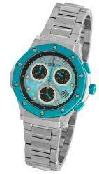 Original 180 Lifestyles Nemo Chrono Blue Bezel Bracelet Lady Watch