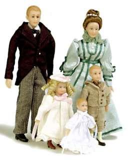 dollhouse miniature DRUMMOND VICTORIAN FAMILY PEOPLE 5