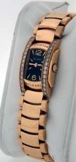 Bvlgari Assioma D 18k Rose Gold Diamond $25,700.00 ladies watch