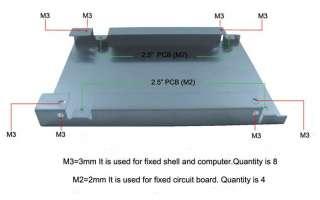 Mini PCI e SSD(Asus S4 SSD) to 2.5 SATA Converter Adapter directly