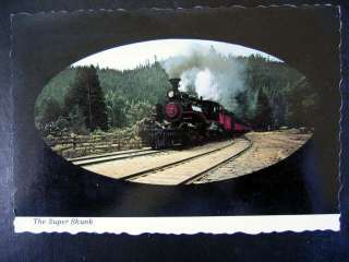 Fort Bragg, CA~ SUPER SKUNK Mallet Steam Locomotive~