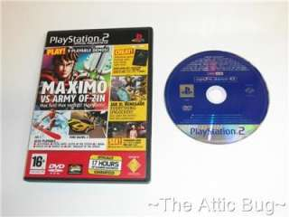 Sony Playstation 2 / PS2 ~ Playstation 2 Official Magazine UK Demo