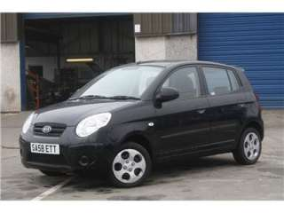 picanto kia picanto 1 1 chill 5dr petrol manual black 5door 25704miles