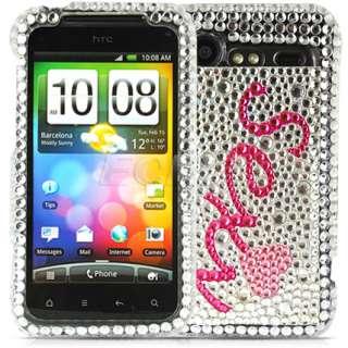 Ecell Designer Range   Crystal Diamond Bling Case for HTC Incredible S
