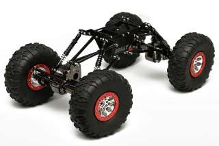 Each Bully crawler is pre assembled, simply add electronics, a lexan