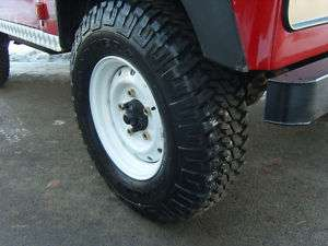 LAND ROVER DEFENDER SNOW TYRES AND WOLF RIMS SET OF 4