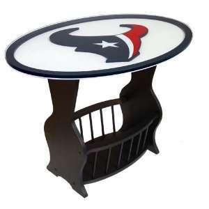 Houston Texans Logo End Table