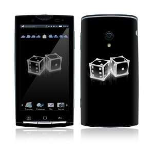 Crystal Dice Decorative Skin Cover Decal Sticker for Sony