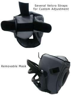 Head Guard Full Face Bar Protective Gear Mask Headguard