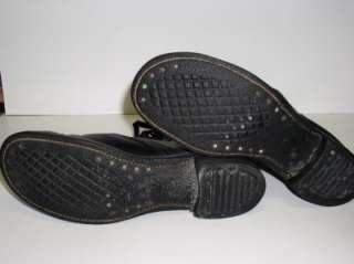 USAF 1961 Issue Endicott Johnson Black Leather Boots