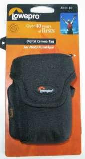 LOWEPRO ALTUS 10 BLACK DIGITAL CAMERA CASE POUCH BAG