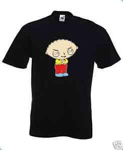 Shirt STEWIE GRIFFIN (Cartoni). Spedizione GRATIS!!!
