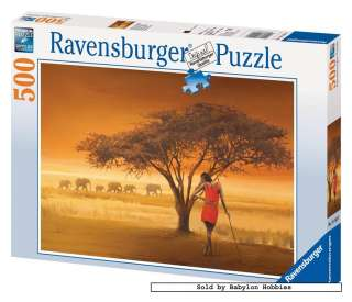 picture 2 of Ravensburger 500 pieces jigsaw puzzle African Maasai