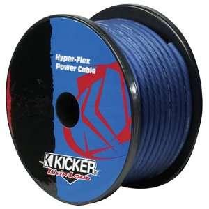 Kicker 05PWB4100 4 Gauge 100 Feet Cobalt Blue Power Wire