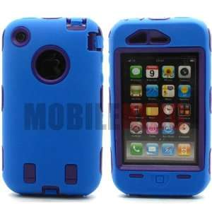 (MOBILE KING) Dual Ultra Rugged Shock Proof Protector Case