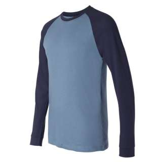 Canvas Mens Long Sleeve Baseball T Shirt Raglan Jersey Tee Team 3000 S