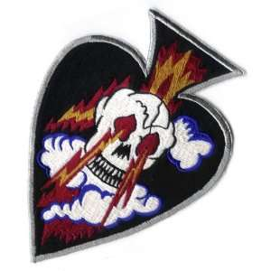 89th Fighter Squadron Ace Skull 7 Patch Office Products