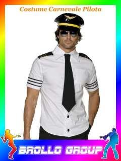 Costume Carnevale Adulto Pilota Aereo tg M #10426 Party