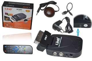 DECODER DIGITALE TERRESTRE DVB T LINQ SCART REC SU USB TV 110V