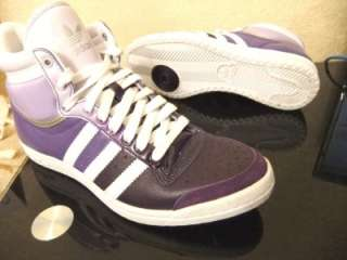 ORIGINAL WOMENS ADIDAS TOP TEN HI SLEEK SERIES TRAINERS UK SIZE 3.5