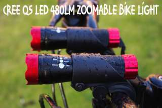7w Cree Q5 LED Mountain Bike Bicycle Cycle Zoomable Lights