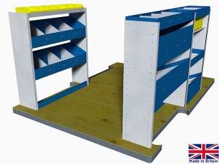 Van Racking System, van shelving VP3, MERCEDES SPRINTER