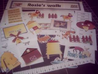 ROSIES ROSIES WALK story sack Primary teaching resource KS1 EYFS