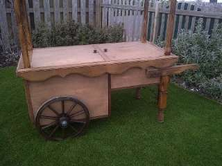flower cart .market stall. fruit and veg barrow.barrow