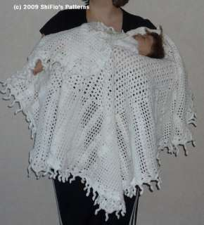 Free Newborn Wrap Crochet Pattern : CROCHET CHRISTENING SHAWL PATTERNS FREE CROCHET PATTERNS