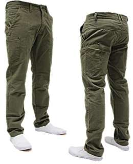 MENS ENZO EZ67 LATEST COLLECTION OLIVE CHINOS ONLY £29.99 REDUCED