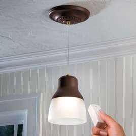 Battery Operated Pendant Light  Home Living  SkyMall