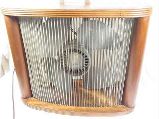 VINTAGE MATHES COOLER BOX WOOD CASE FAN VARIABLE SPEED