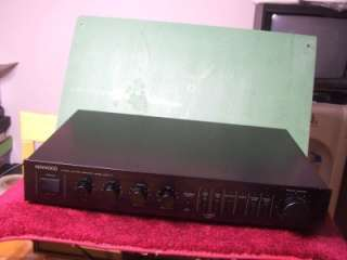 Kenwood Basic C1 Stereo Control Amplifier Model Basic C1 Preamplifier