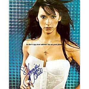 Jennifer Love Hewitt Autographed Lace Bra Signed Photo