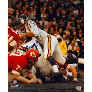 Jim Marshall Signed Minnesota Vikings 16x20 Photo Sports