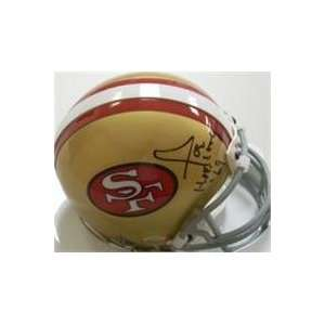 Joe Perry autographed Football Mini Helmet (San Francisco 49ers